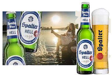 Spalter Hell: jetzt in der 0,33 l-Flasche
