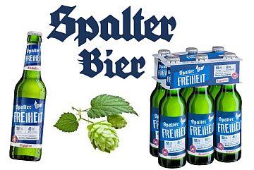 Spalter FREIHEIT Alkoholfrei – 40 % weniger Kalorien!