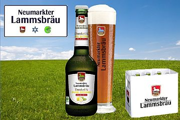 Neumarkter Lammsbräu: Dunkel & Pure Zitrone AF