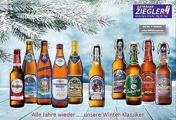 Winter- und Weihnachtsbiere 2020