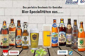 Fränkische und bayrische Biersorten