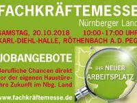 1. Fachkräftemesse in Röthenbach am 20. Oktober 2018